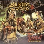 MUNICIPAL WASTE - THE FATAL FEAST (LP 180g GATEFOLD CLEAR VINYL + POSTER)