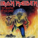"IRON MAIDEN - THE NUMBER OF THE BEAST (7"" EP VINYL)"