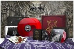 "WATAIN - THE WILD HUNT (2LP RED VINYL + 7"" EP RED VINYL + 7"" EP BLACK VINYL + LIMITED DELUXE CD + POSTCARDS + CLOTH + POSTER + METAL PIN + AUTOGRAPH CARDS)"