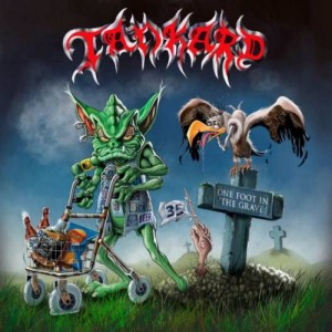 TANKARD - ONE FOOT IN THE GRAVE (CD)
