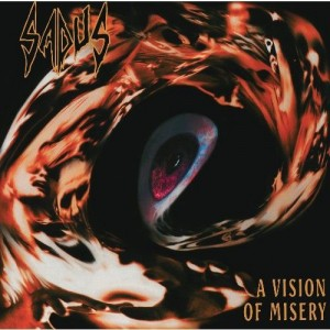 SADUS - A VISION OF MISERY (LP)