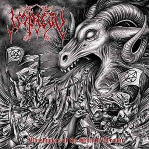 IMPIETY - WORSHIPPERS OF THE SEVENTH TYRANNY (LP GREY SPLATTER VINYL LIMIT 100 COPIES)