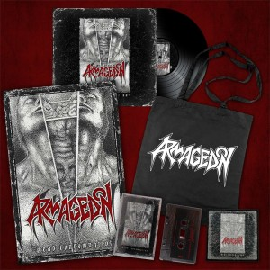 ARMAGEDON - DEAD CONDEMNATION (LP GATEFOLD DIE HARD EDITION LIMIT 100 COPIES)