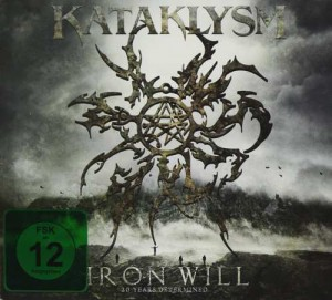 KATAKLYSM - IRON WILL (2DVD+2CD DIGIPACK)