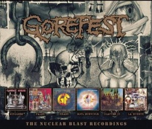 GOREFEST - NUCLEAR BLAST RECORDINGS (6CD)