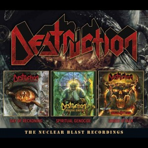 DESTRUCTION - NUCLEAR BLAST RECORDINGS (3CD)