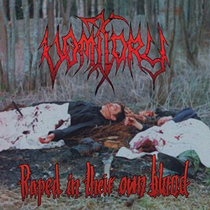 VOMITORY - RAPED IN THEIR OWN BLOOD (LP)