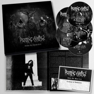 ROTTING CHRIST - UNDER OUR BLACK CULT (5CD LIMITED EARBOOK)