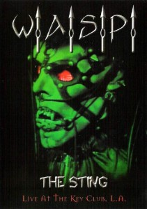 W.A.S.P. (WASP) - THE STING - LIVE AT THE KEY CLUB (DVD)