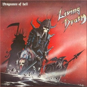LIVING DEATH - VENGEANCE OF HELL (LP)