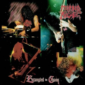 MORBID ANGEL - ENTANGLED IN CHAOS (LP)