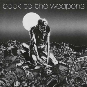 LIVING DEATH - BACK TO THE WEAPONS (LP LIMIT 500 COPIES)