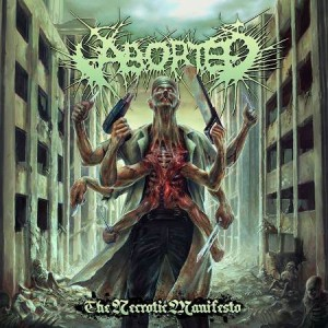 ABORTED - THE NECROTIC MANIFESTO (LP 180g + CD)