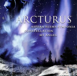 ARCTURUS - ASPERA HIEMS SYMFONIA / CONSTELLATION / MY ANGEL (2LP 180g GATEFOLD COLOURED VINYL)