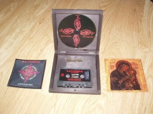 BATUSHKA - LITOURGIYA (CD + TAPE WOODEN BOX LIMIT 300 COPIES)
